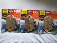 EBC HH Sintered Front and Rear Brake Pads Honda VFR800 Fi 1998-1999 FA261HH