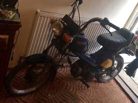 Yamaha ms50 scooter Stepthrough moped