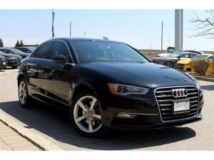 2015 Audi A3 2.0 Komfort + Heated Leather Interior