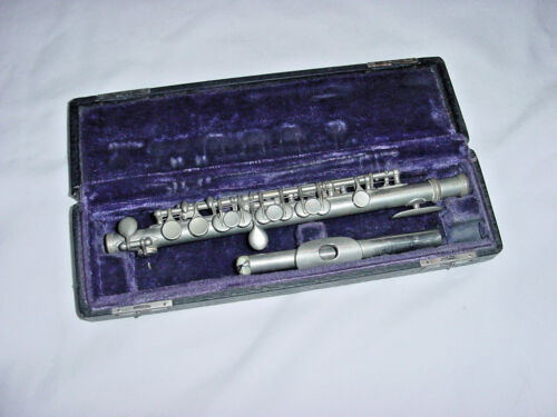 VINTAGE PITT BRAND PROFESSIONAL PICCOLO 1950s or earlier