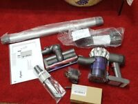 Dyson V6 cordless bagless vacuum cleaner 1 year Dyson guarantee