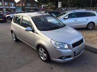 2009/09 CHEVROLET AVEO 1.4 LT,5 DOOR,SILVER,GREAT LOOKS,DRIVES WELL,2 OWNERS,GOOD SPEC,DRIVES WELL