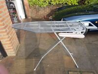 Ironing board, used. Needs cover. Banstea8d, Surrey area. £2.00