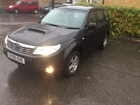 2009 SUBARU FORESTER X BOXER 4WD BLACK 2.0 D