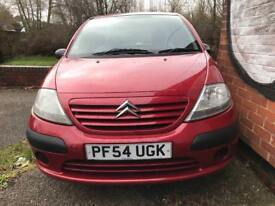 2005 (Jan 54) CITROEN C3 1.4i DESIRE - 5 Door - RED *CITROEN PARTS/DOOR/WING/SPARE/REPAIRS/BREAKING