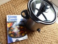 NEW SLOW COOKER FOR 2 + free book