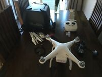 DJI Phantom 3 advanced with Hard Shell Carry case Plus upgraded Memory