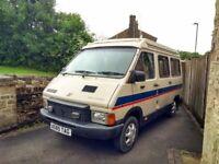 1984 Classic Renault Trafic 1.7l Petrol Pop-Top 2 Berth Campervan