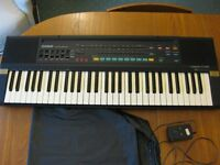 Casio Casiltone CT-660 electronic keyboard with A/C adaptor