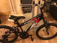 POWER SPORT Bicycle USED ( BLACK AND RED) colour