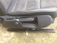 Audi A6 half leather seats