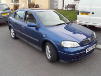 Vauxhall Astra 1.7 Dti LS Eco 4 . £30 a year road tax