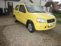 2003 Suzuki Ignis one lady owner 60,000 mls mint driving perfect. WHY pay more for one over £1000