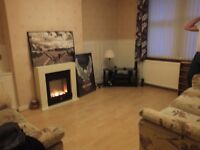 Modern Small electric fire with surround ( cream) cost £130 , selling for £70 4 months old