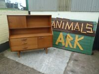 Wood Sideboard Display Unit Delivery Available £25