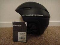 Ski Snowboarding safety helmet Salomon Ranger Black size 57-59 (M/L) NEW