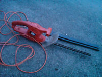 Black & Decker 19 inch 240v hedge trimmer