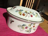 Royal Worcester 'Strawberry Fair' Lidded Tureen Casserole Dish
