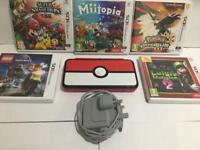 New 2ds Xl Pokeball Edition ( Good condition ) - With 5 Games