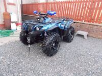 YAMAHA GRIZZLY QUAD 450 SPECIAL EDITION