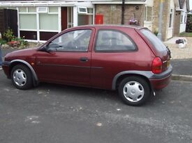 AUTOMATIC CORSA 1997 24000mls FROM NEW ONLY 2 OWNERS VERY GOOD CONDITION