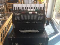 FARFISA TRANSIVOX PIANO ACCORDION +SOUND MODULE/+ FARFISA AMLIFIER
