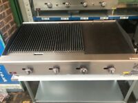 CATERING COMMERCIAL BRAND NEW MUTLI 3 IN 1 GRILL CAFE BURNER KEBAB CHICKEN CHIPS MEAT CAFE SHOP CAFE