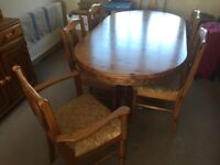 Pine dining suite