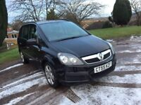 2006(55) VAUXHALL ZAFIRA 1.6 LIFE 7 SEATER 5 DOOR HATCH BACK NEW CLUTCH BARGAIN