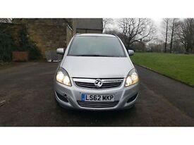 Vauxhall Zafira 1.6 i VVT 16v Exclusiv 5dr