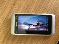 Nokia n8 silver Unlocked free charger case