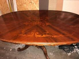 Lovely carved Italian table NO chairs project