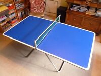 Children's fold-able Table Tennis Table and accessories. Excellent condition.