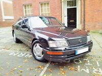 Lexus LS400, 4.0 V8, Auto. Fully Loaded, 1997 R Reg, 159K with FULL SERVICE HISTORY & LONG MOT gs300