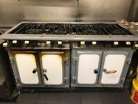 USED 8 BURNER COMMERCIAL COOKER FOR SALE