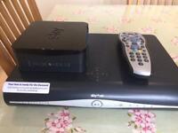 Sky + HD box, Sky Hub and remote control