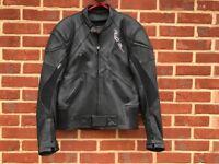 Motorbike leather jacket make Richa, used 6 times