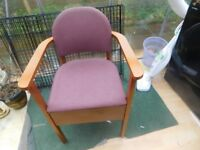 COMMODE CHAIR VERY GOOD CONDITION CAN DELIVER