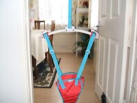 Baby Door Frame Bouncer. Munchkin Bounce About for approx. 3 months to max weight of 12kg (26.46lb)