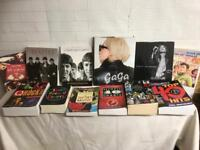 Great collection of rock and record collectors books