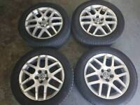 "16"" VW GOLF MK4 BBS MONTREAL ALLOYS 5X100 GENUINE"
