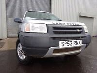 💥53 LAND ROVER FREELANDER MASAI MARA 4X4 1.8,MOT DEC 017,FULL HISTORY,VERY LOW MILEAGE 4X4