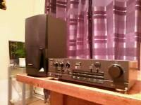 Technics Amplifier SU-V550 Class AA VC4 & One speaker