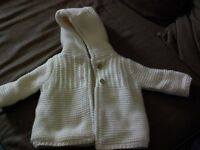 Baby Jacket up to 3 mth - washed but never worn