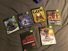 Various XBox games brand new and still in wrapping.