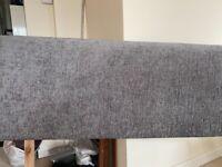 Free Grey material double headboard