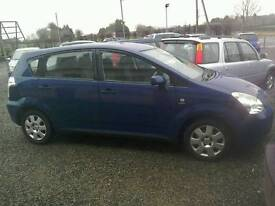 04 Toyota Verso 1.8 7 Seater 5 door clean car,( can be viewed inside anytime)
