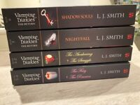 Collection of Vampire Diaries books