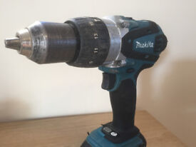 **MAKITA BHP458 COMBI DRILL/DRIVER BODY ONLY, USED BUT FULLY WORKING**