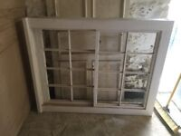 Timber sash window